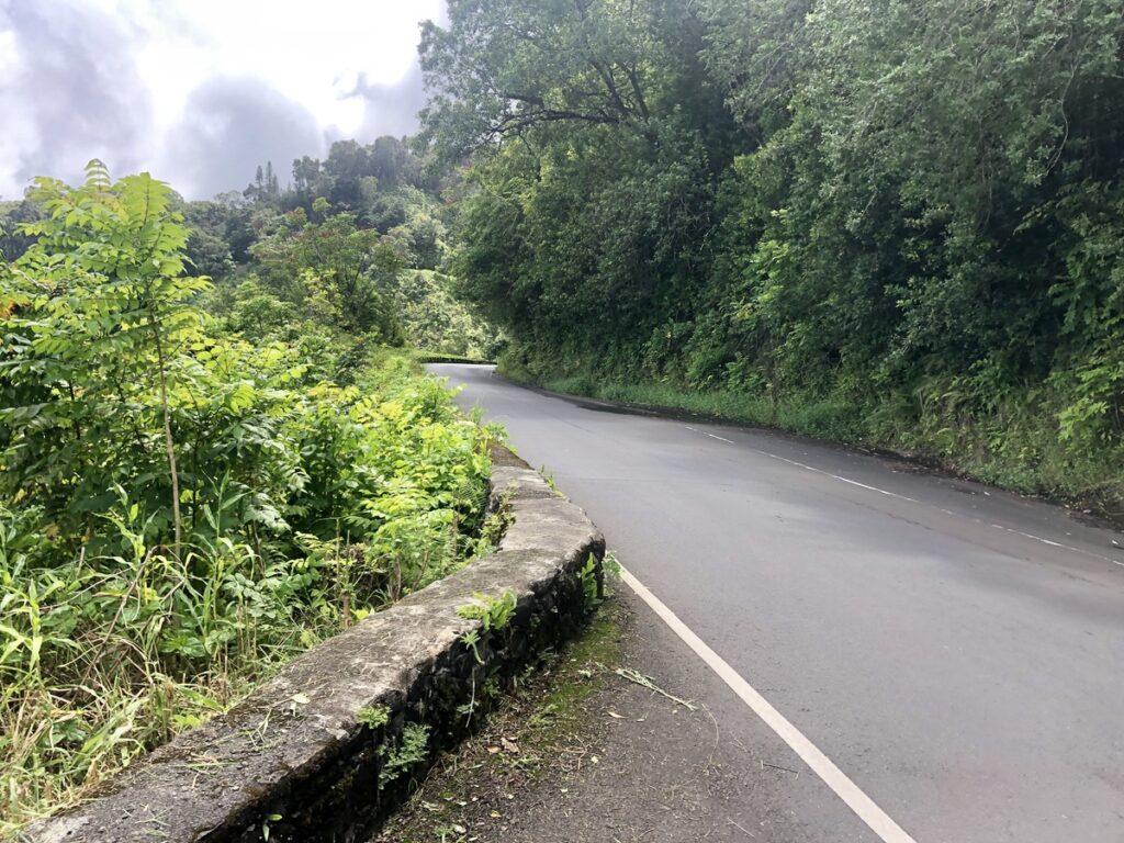 One-way bridge on the Road to Hana.