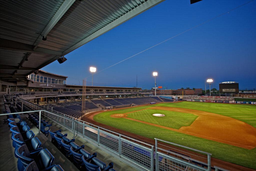 ONEOK Field in Tulsa, Oklahoma.