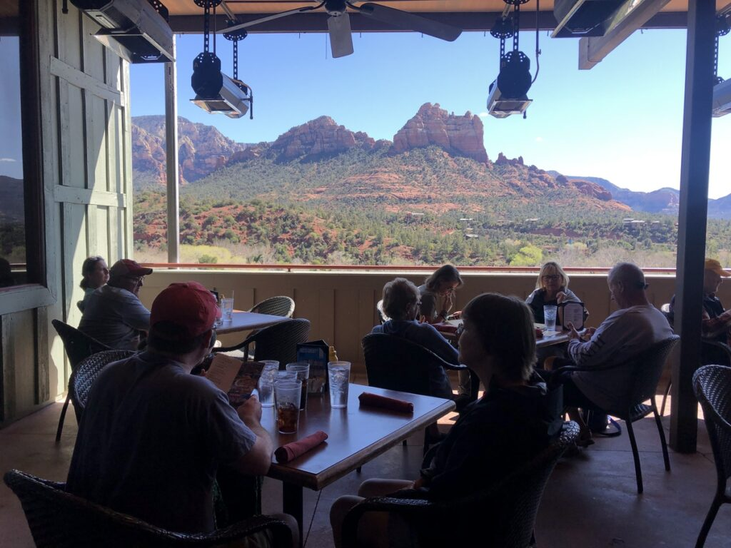 Open Range Grill and Tavern in Sedona.
