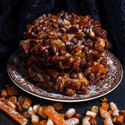 Orange Pecan Chocolate Chip Cookie, Gideon's Bakehouse.
