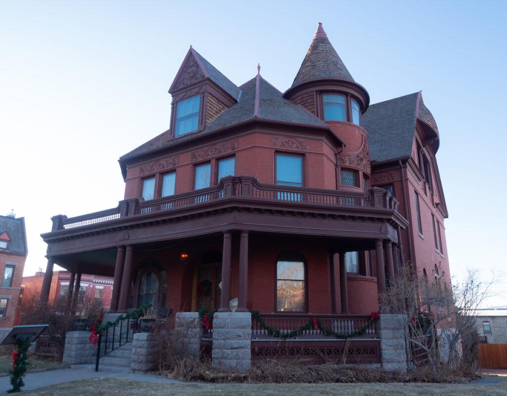 Original Governor's mansion.