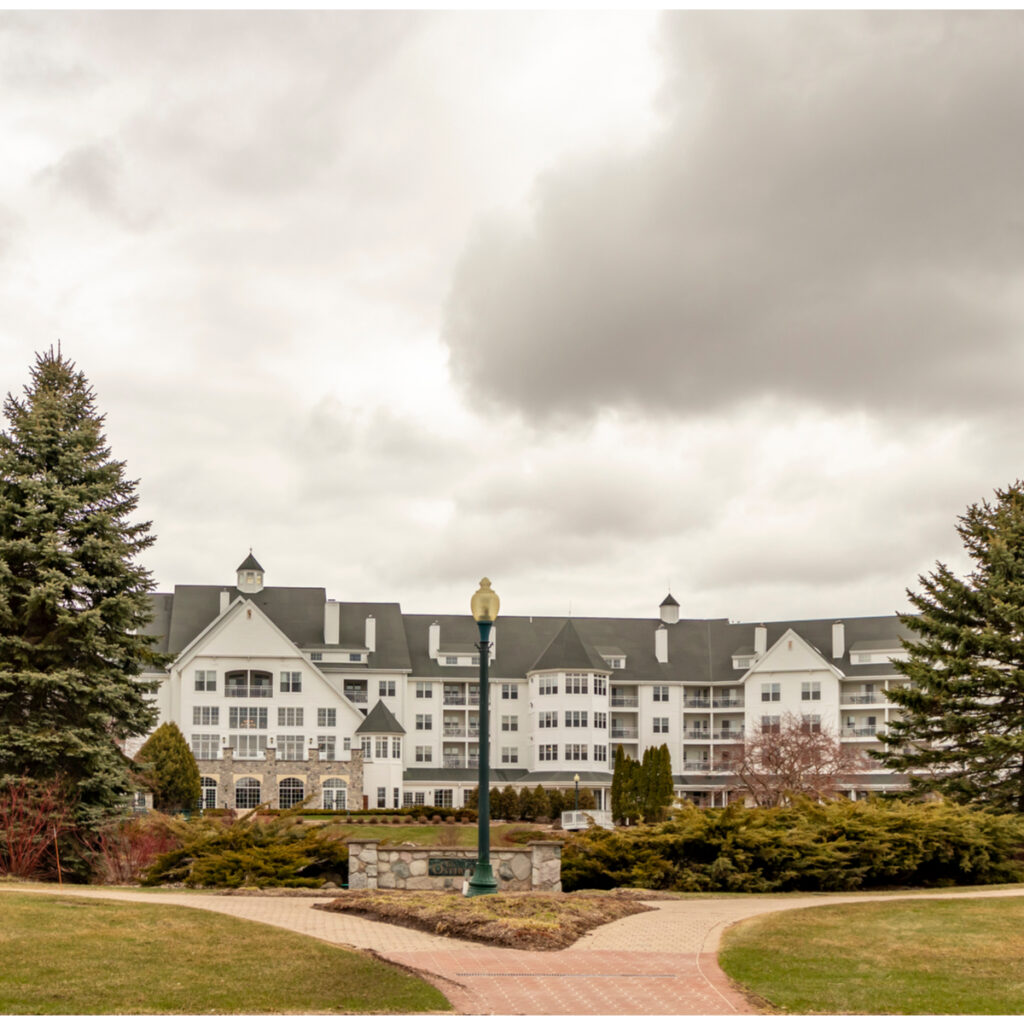 Osthoff Resort and Spa overlooking Elkhart Lake.