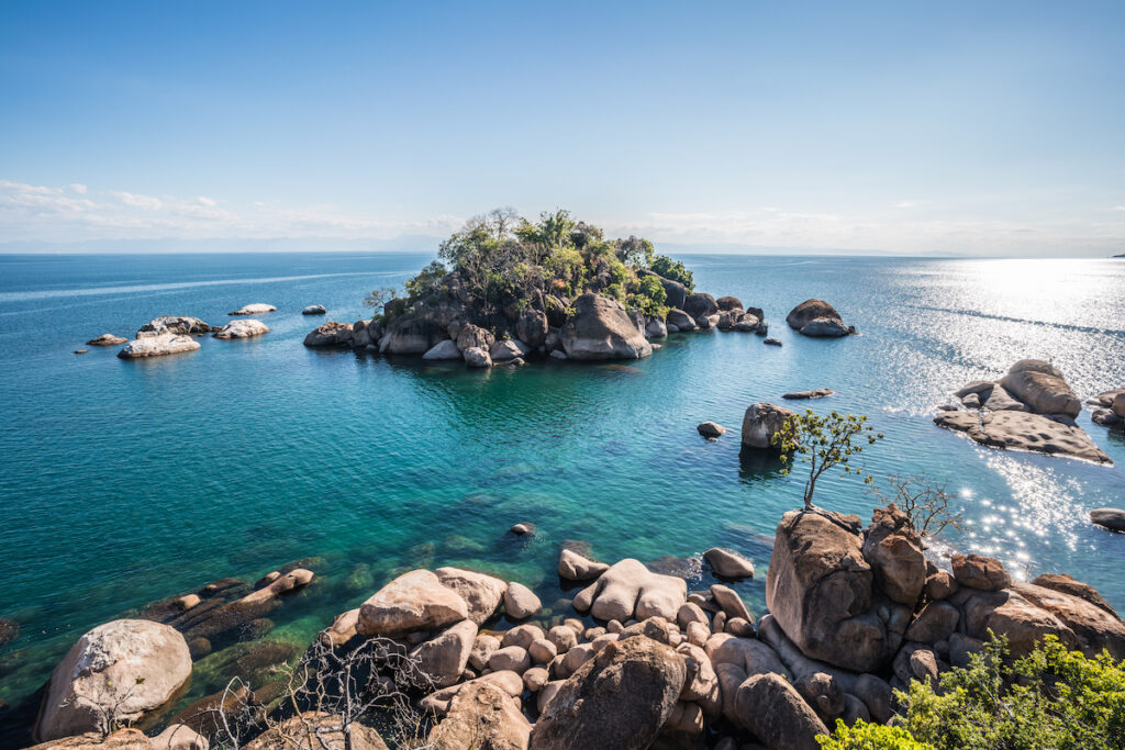 Ottor Point at Cape Maclear in Malawi.