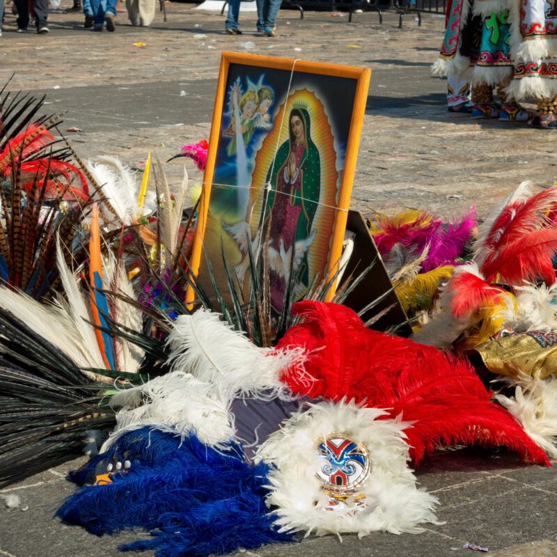 Our Lady of Guadalupe Day in Mexico City
