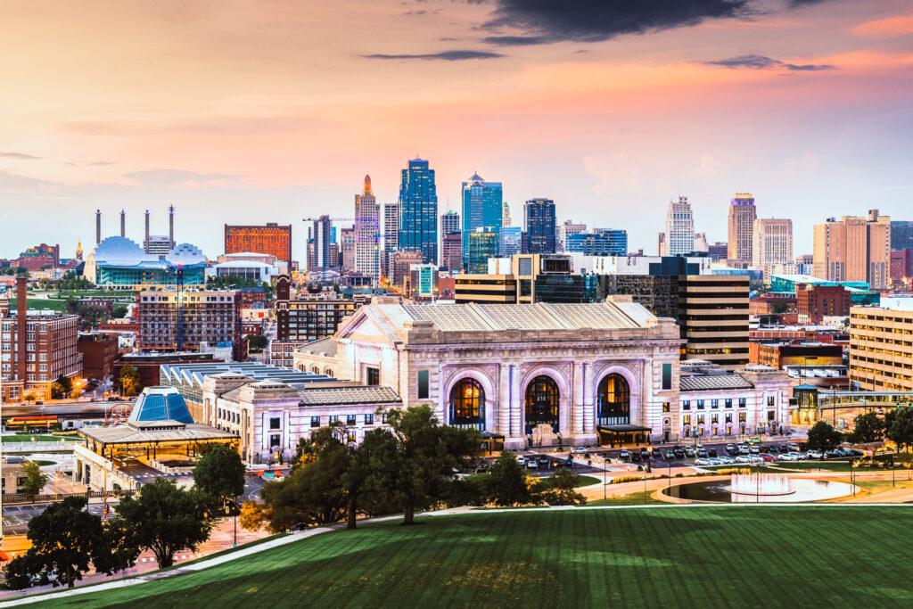 Overlooking Kansas City, Missouri