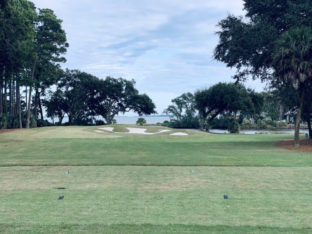 Oyster Reef Golf Club on Hilton Head island.
