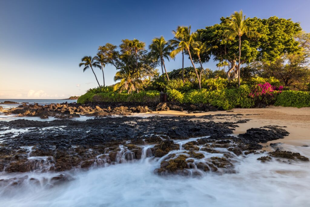 Pa'ako Beach, otherwise known as the Secret Cove.