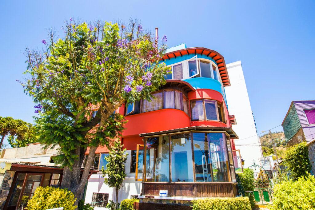 Pablo Neruda's house at La Sebastiana.