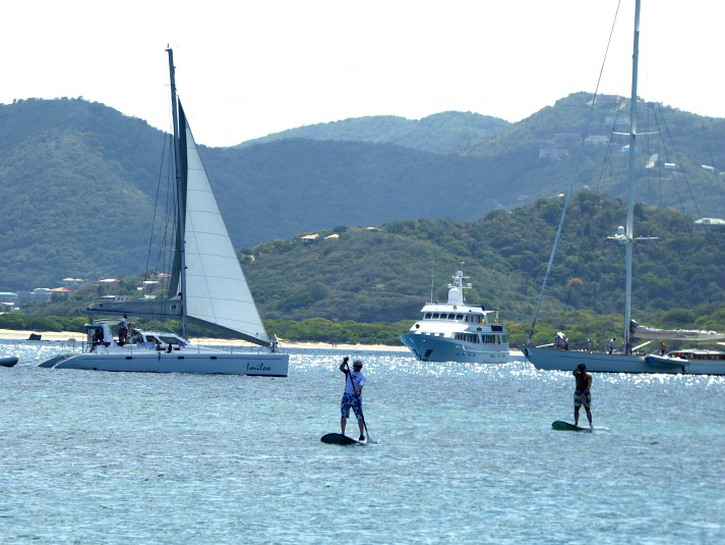 packing tips for sailing vacations that include paddleboarding in the BVI
