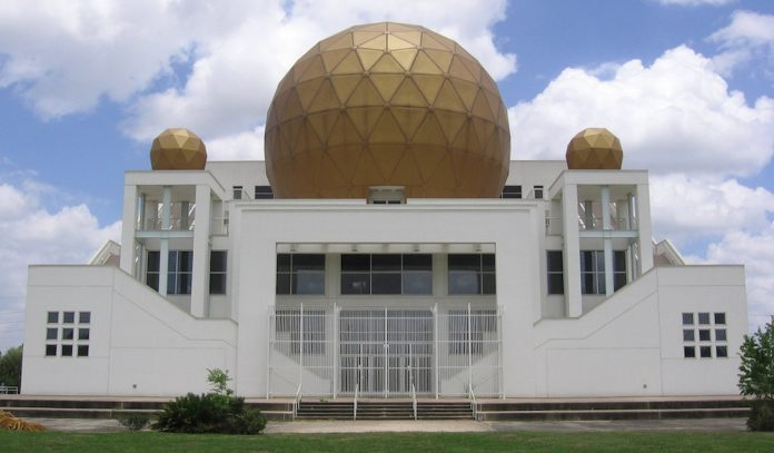 Palace of the golden orbs.
