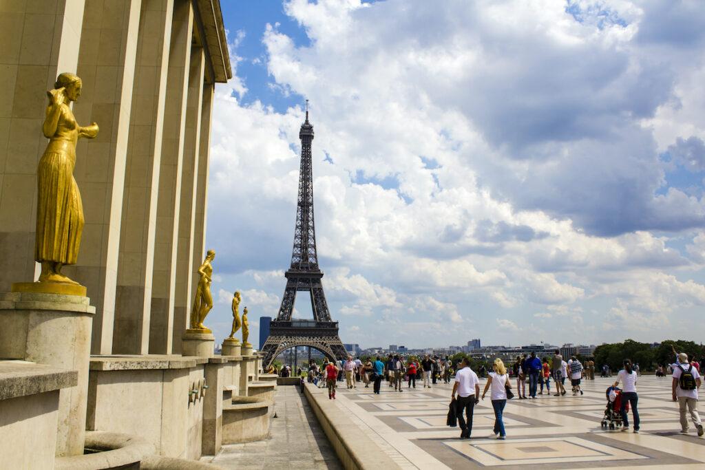 Palais de Chaillot in Paris, France.