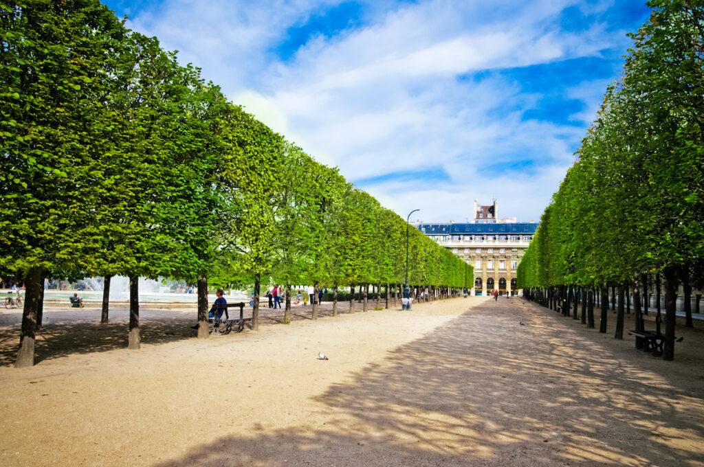 Palais Royal in Paris, France.