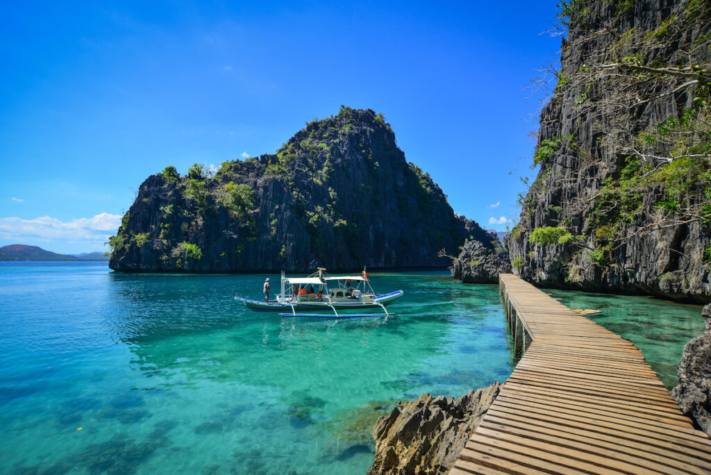 Palawan in the Philippines.