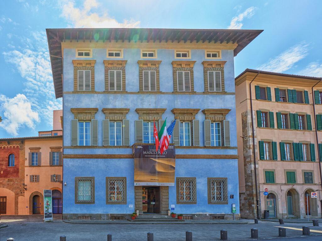 Palazzo Blu in Pisa, Italy.