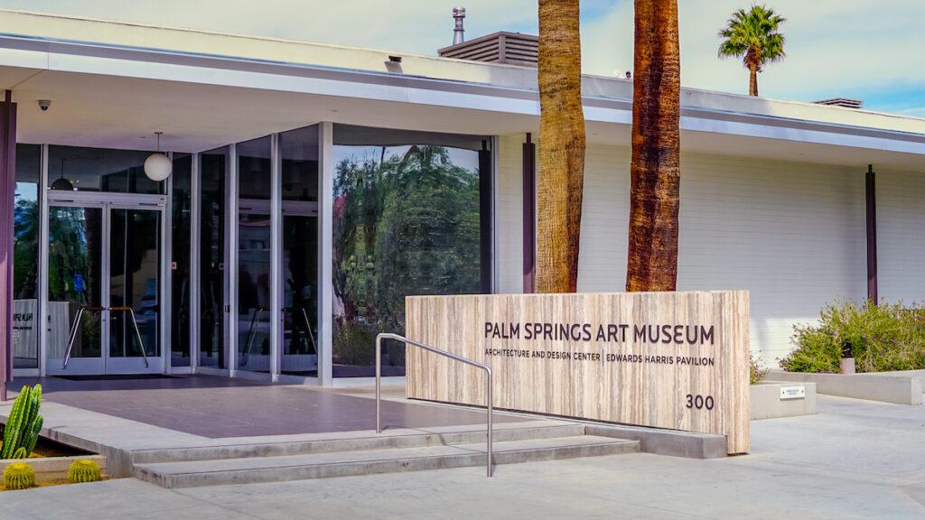 Palm Springs Art Museum, California.