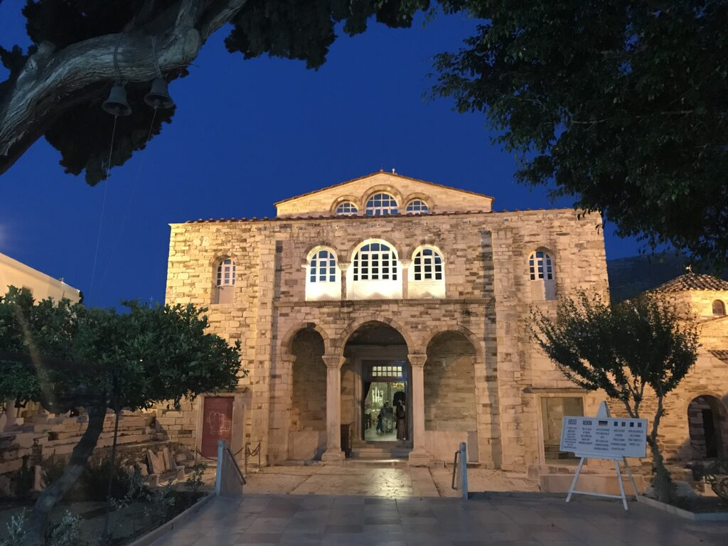 Panagia Ekatontapiliani in Paros.