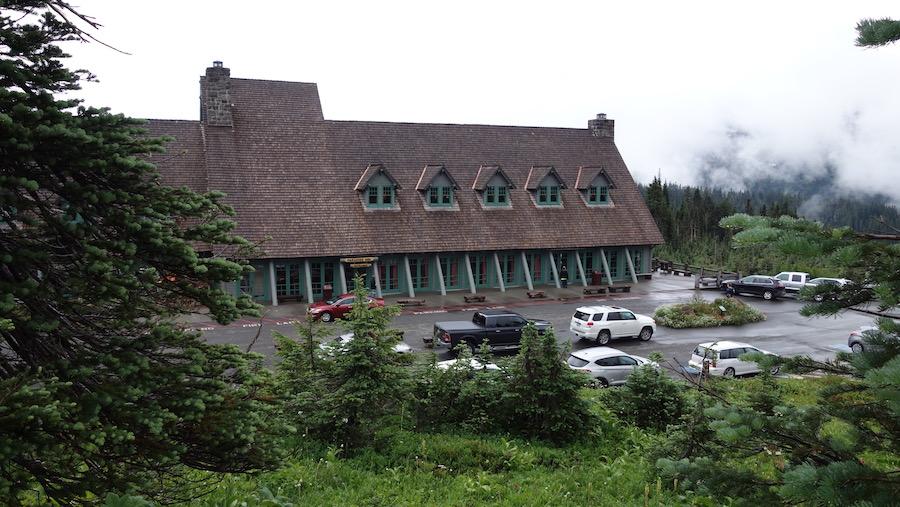 Paradise Inn in Mount Rainier National Park.
