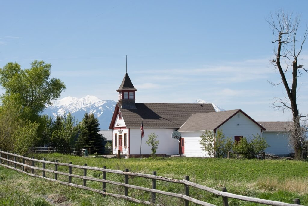 Paradise Valley School House.
