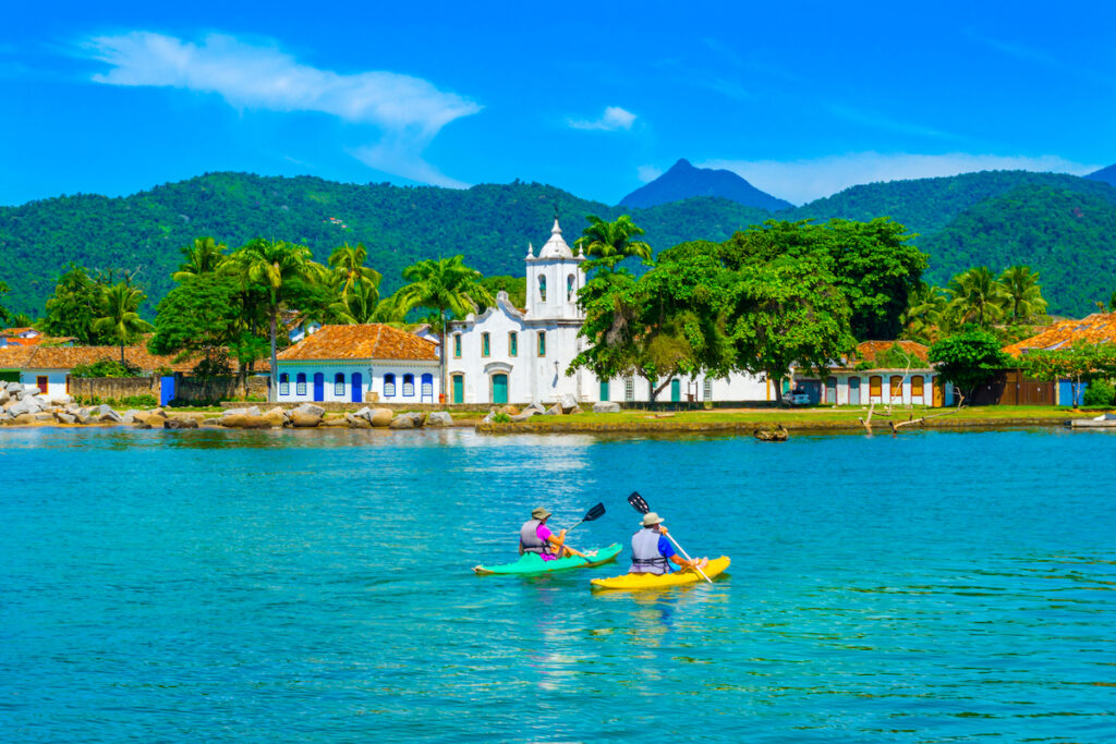 Paraty, a colorful town in Brazil's Costa Verde.