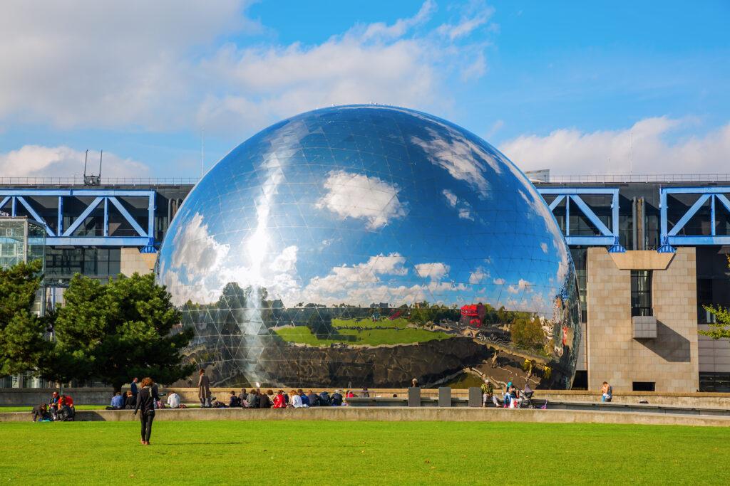 Parc de la Villette, the home of the Science and Industry museum.