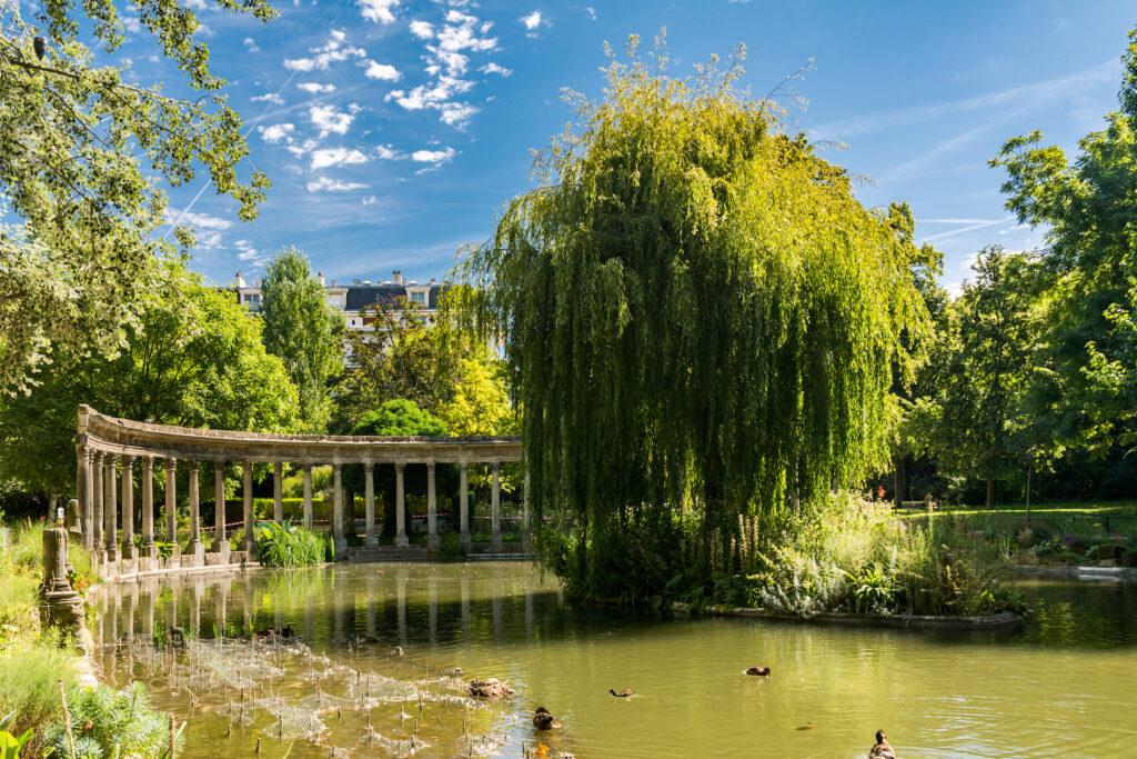 Parc Monceau in Paris.