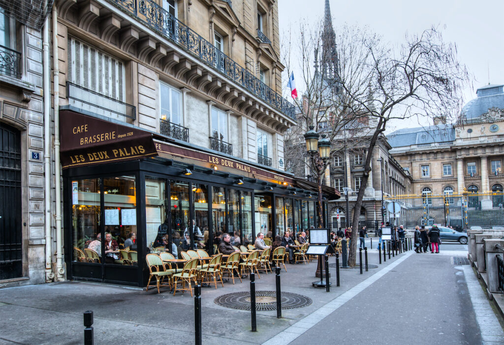 Paris, France, during February.