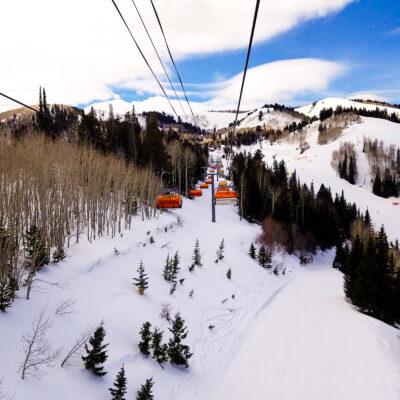 Park City Mountain Resort in Utah.