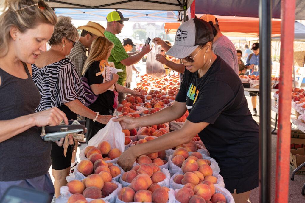 Parker Country Peach Festival.