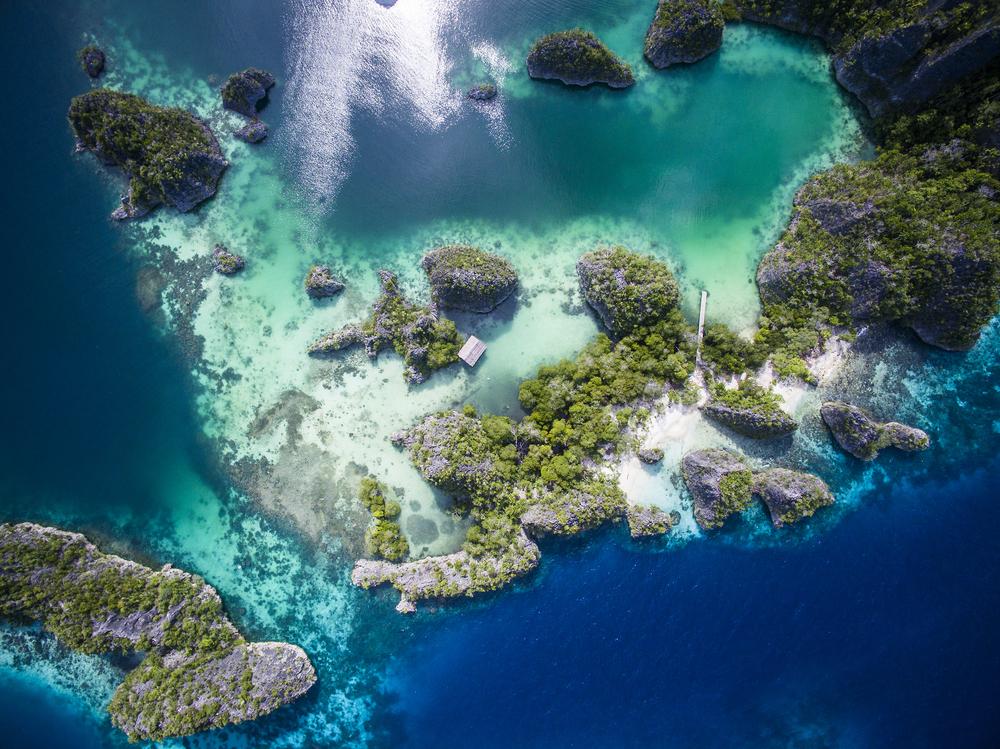 Part of the Raja Ampat Islands.
