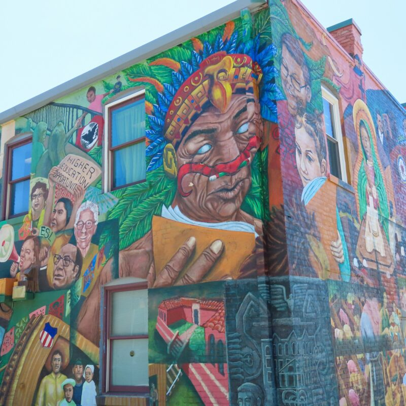 Part of the South Omaha Mural Project in Nebraska.