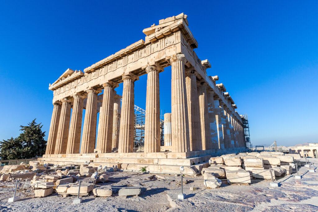 Parthenon in Acropolis, Athens, Greece.
