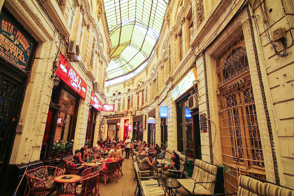 Pasajul Macca-Vilacrosse in Bucharest.