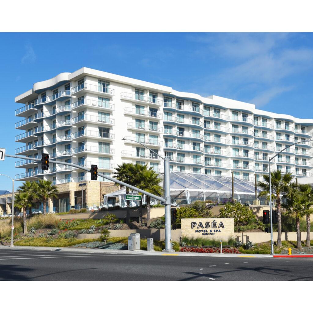 Pasea Hotel and Spa in Huntington Beach.