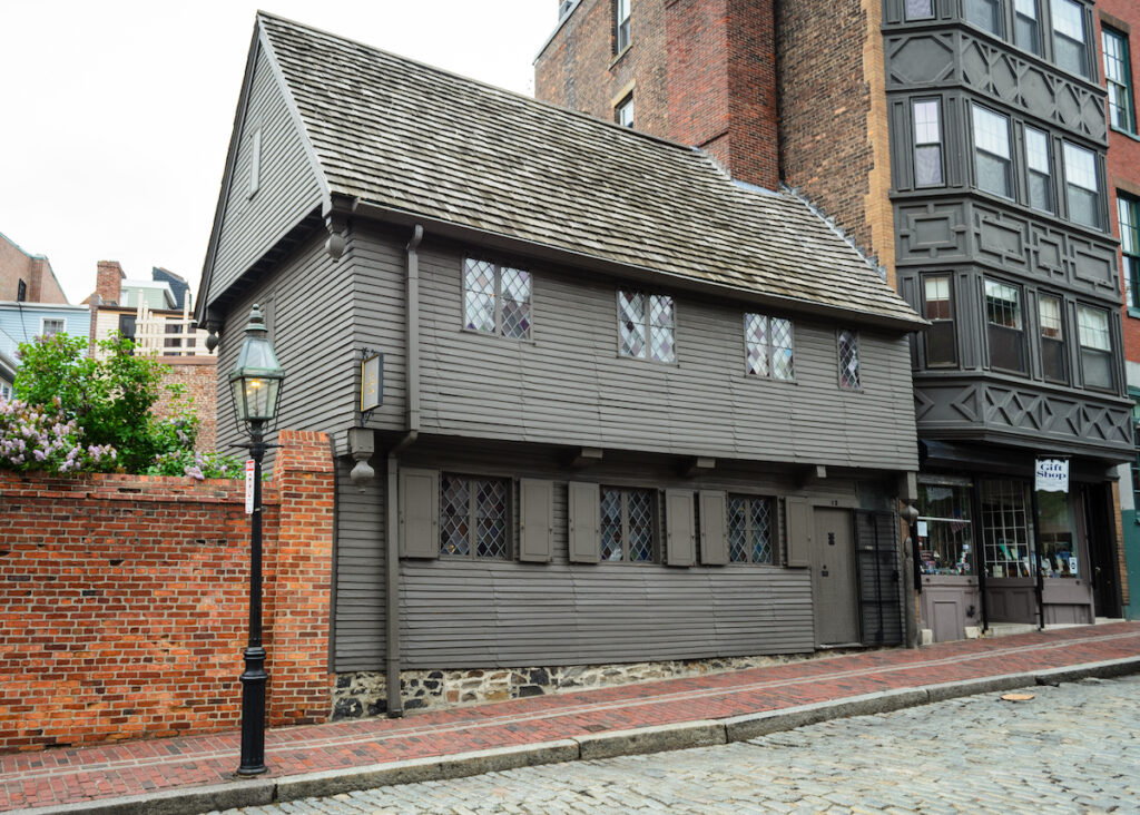 Paul Revere House, Boston, MA.