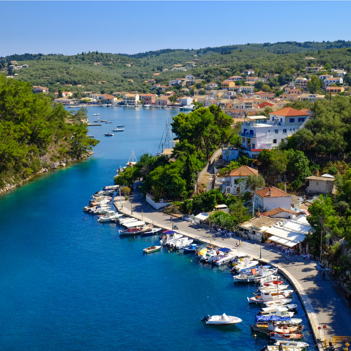 Paxos, Greece.