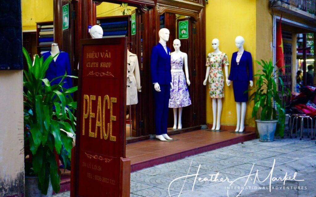 Peace Tailors in Vietnam.