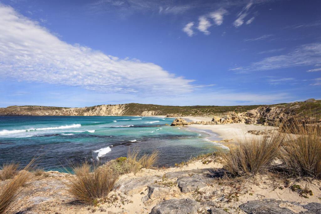 Pennington Bay on Kangaroo Island, Australia.