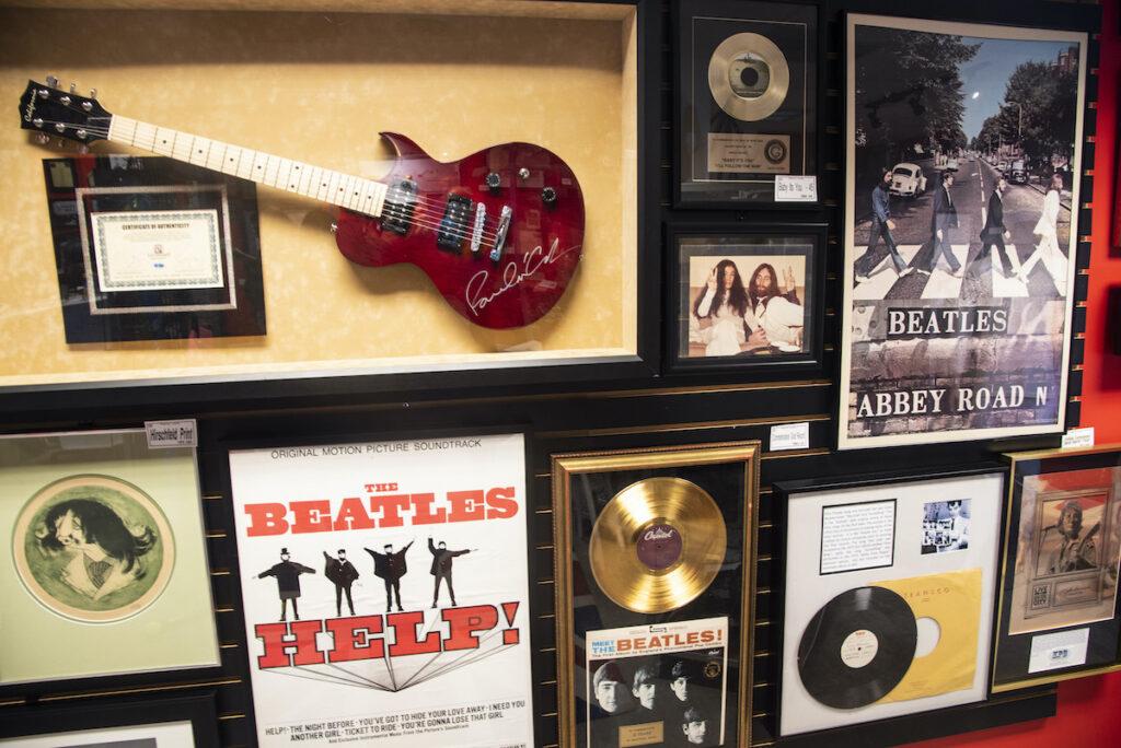Penny Lane Beatles museum, Dunedin, Florida.