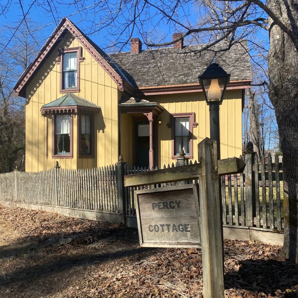 Percy Cottage, Historic Rugby, Tennessee.