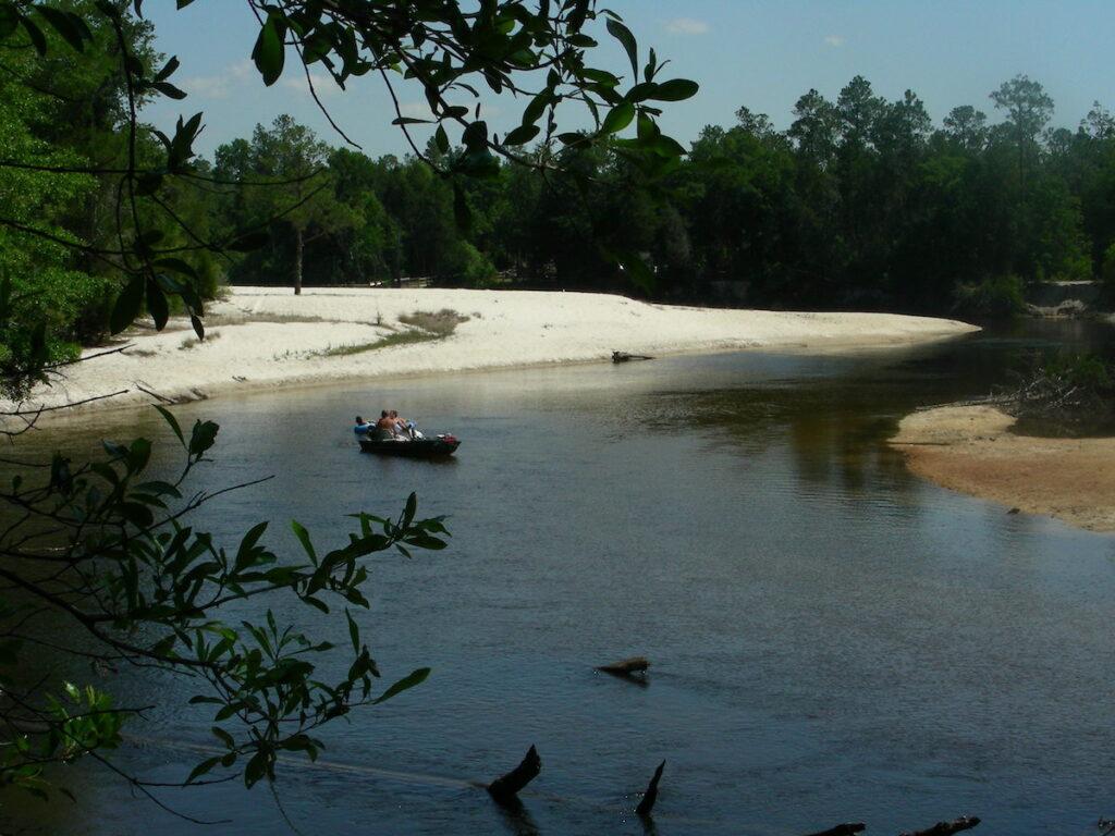 Perdido River Trail in Robertsdale, Alabama.