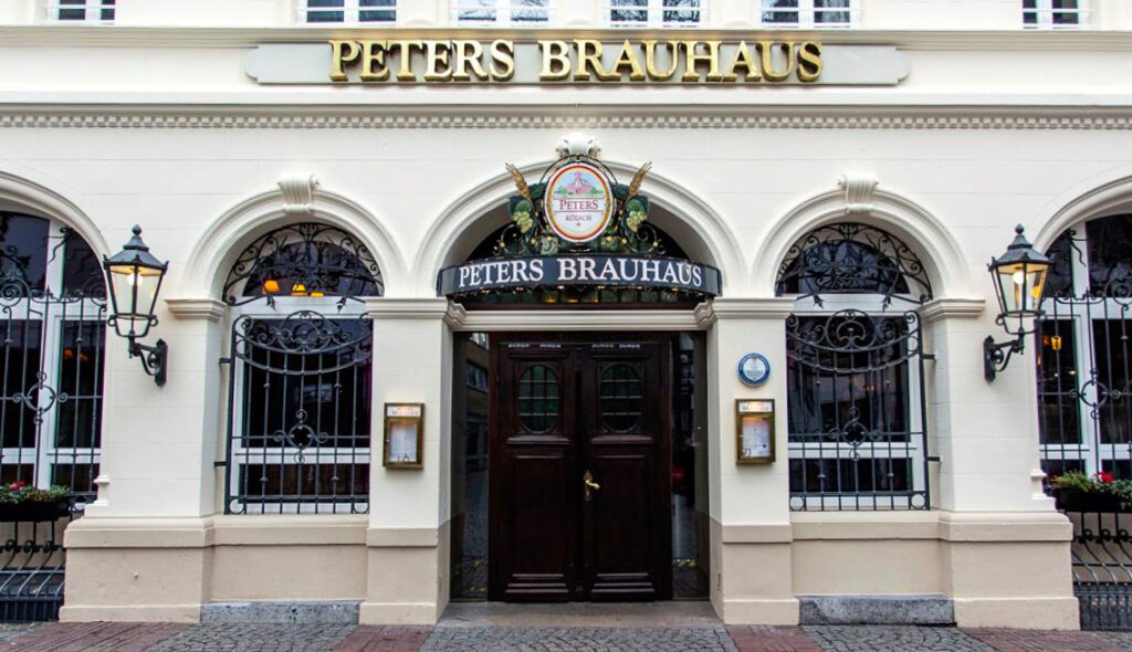 Peters Brauhaus in Cologne, Germany.