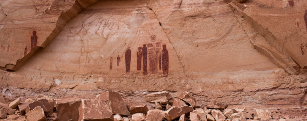 Petroglyphs in Horseshoe Canyon, Utah
