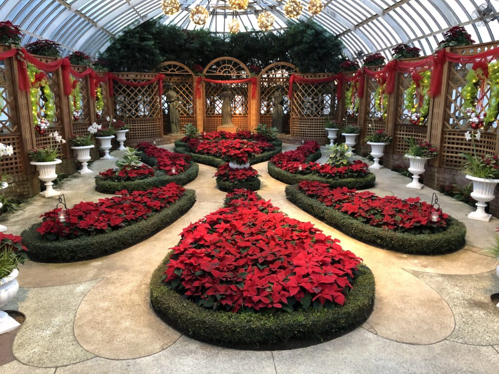 Phipps Conservatory in Pittsburgh.