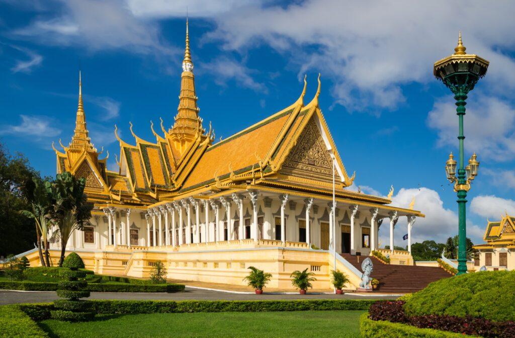 Phnom Penh in Cambodia.