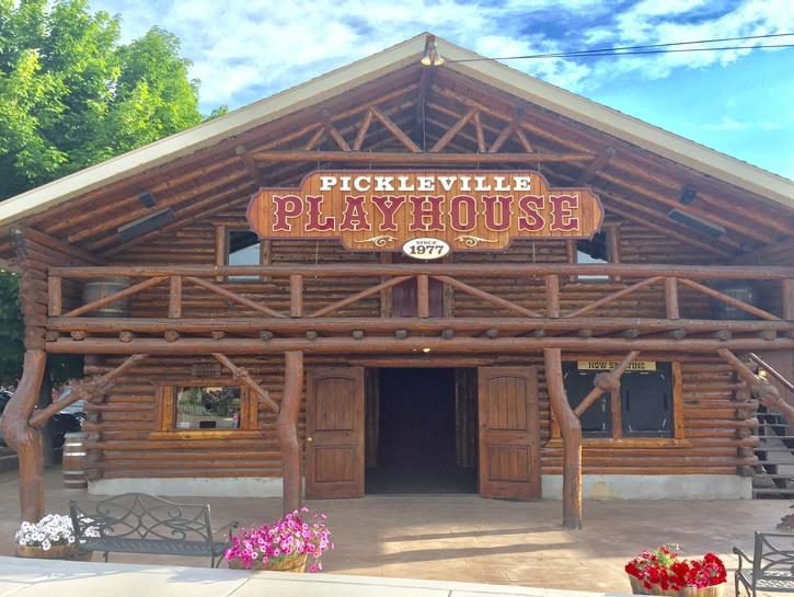 Pickleville Playhouse, Garden City, Utah