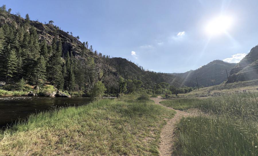 Picnic Rock Natural Area in Colorado.