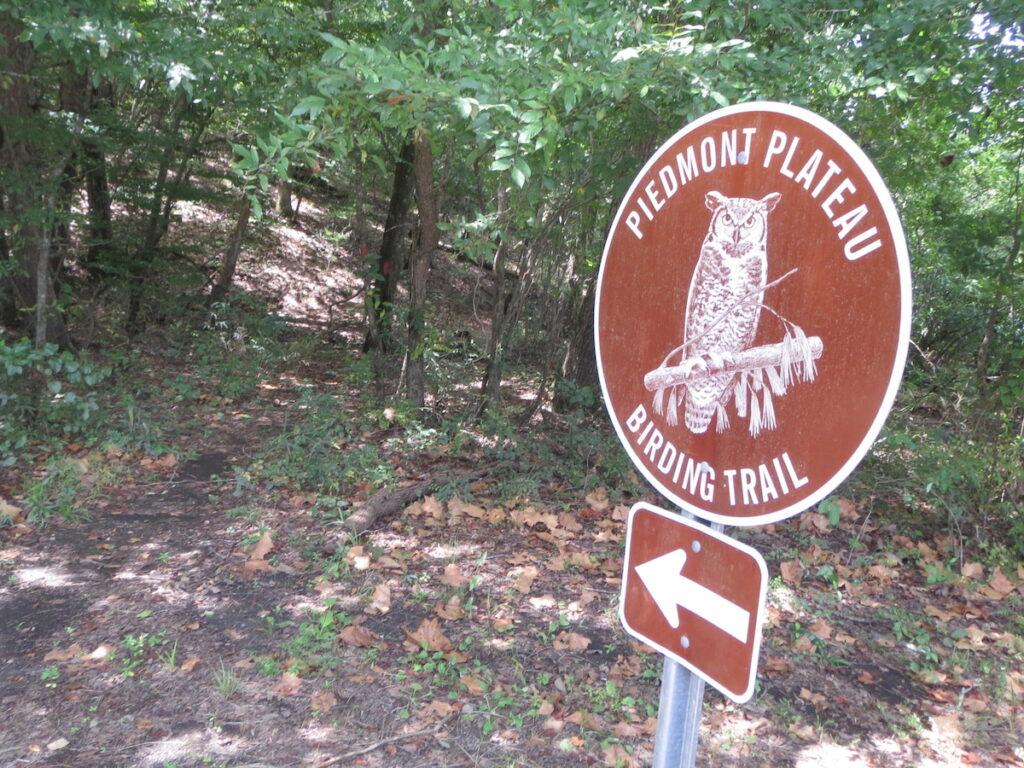 Piedmont Plateau Birding Trail in Alabama.