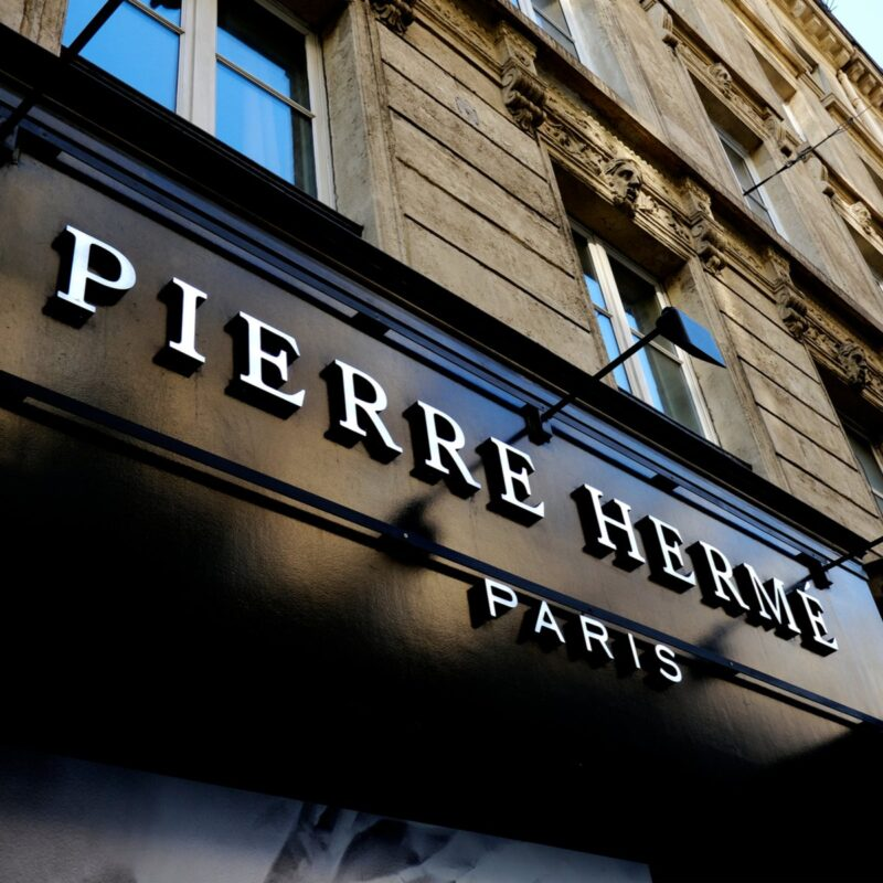Pierre Hermé in Paris.