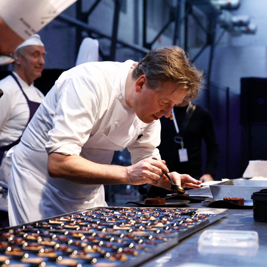 Pierre Marcolini chocolatier.