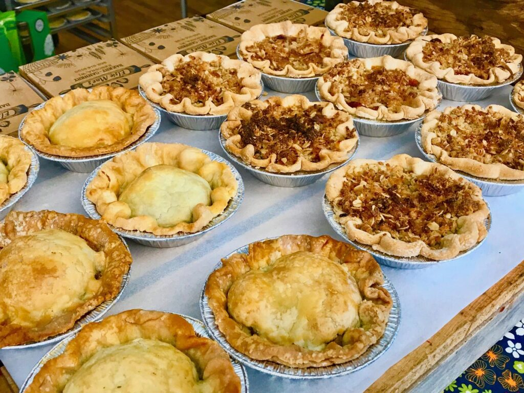 Pies from Elsie Mae's Canning and Pies in Kenosha.